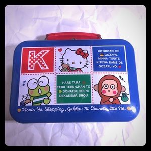 Vintage Sanrio tin box 1994
